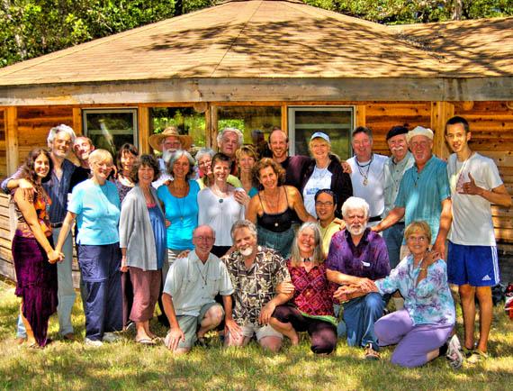July 2012 Retreat - Buckhorn Springs - group photo