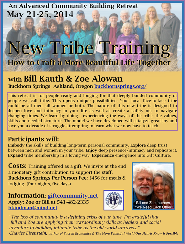 Buckhorn-New-Tribe-Training